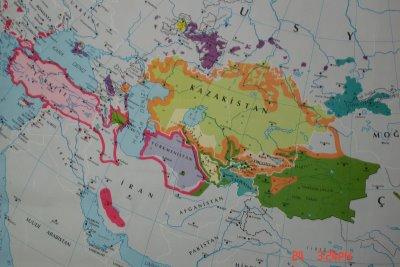Türkçenin konuşulduğu bölgeler